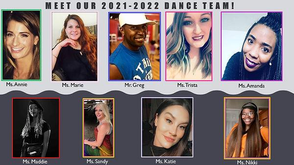 RYDE Dance Teacher Team 2021- revised 6.