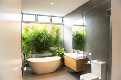 Marrickville indoor outdoor bathroom