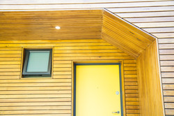 CSA architects wood-panelled alcove