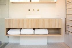 Bathroom reno storage space