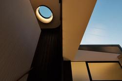 Alex Roth interior round skylight