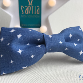 Pajarita STARS BLUE