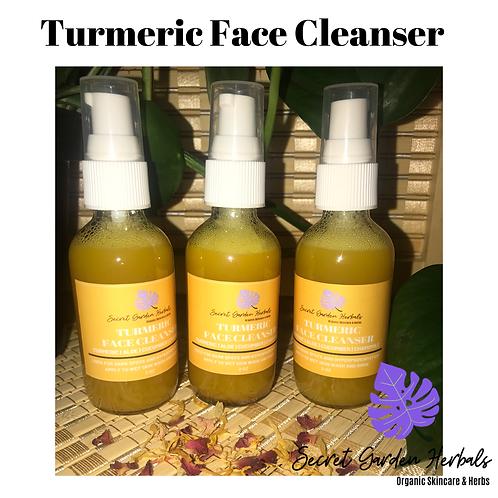 Turmeric Face Cleanser 2.oz