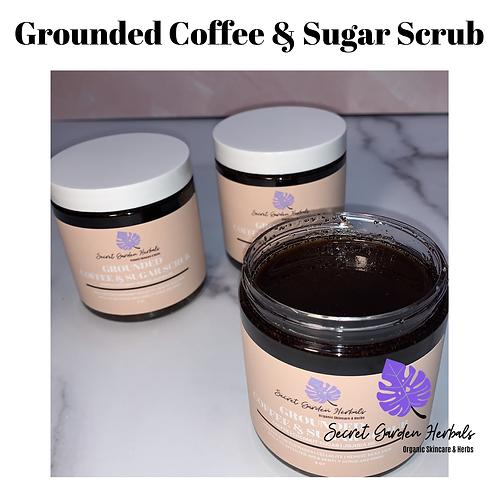 Grounded Coffee & Sugar Scrub