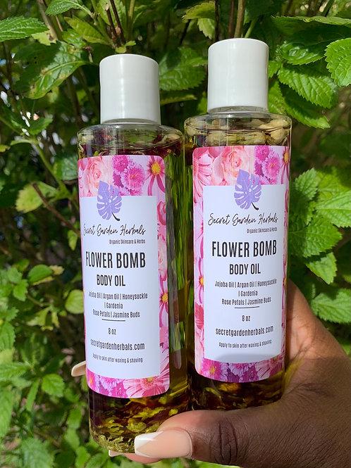 Flower Bomb Body Oil 8.oz