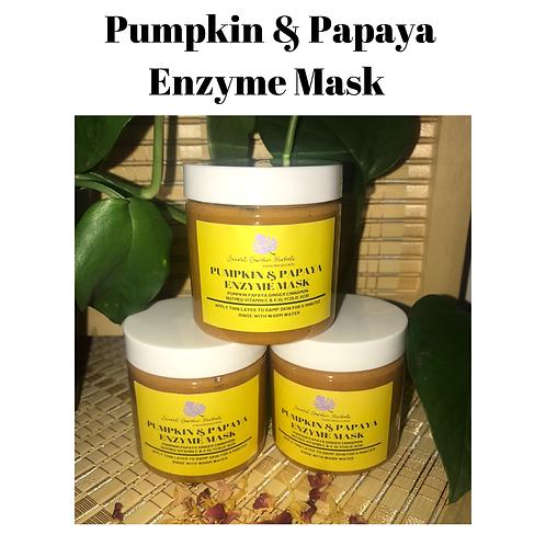 Pumpkin & Papaya Face Mask
