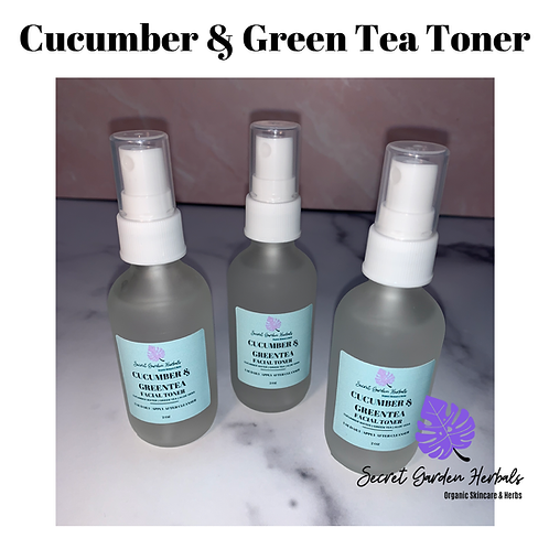 Cucumber & Green Tea Toner