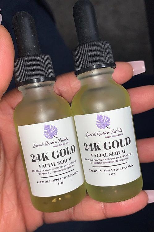 24k Golden Facial Serum