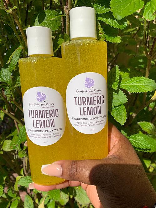 Turmeric Lemon Brightening Body Wash