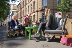 öffentlicher Raum Das Plätzchen