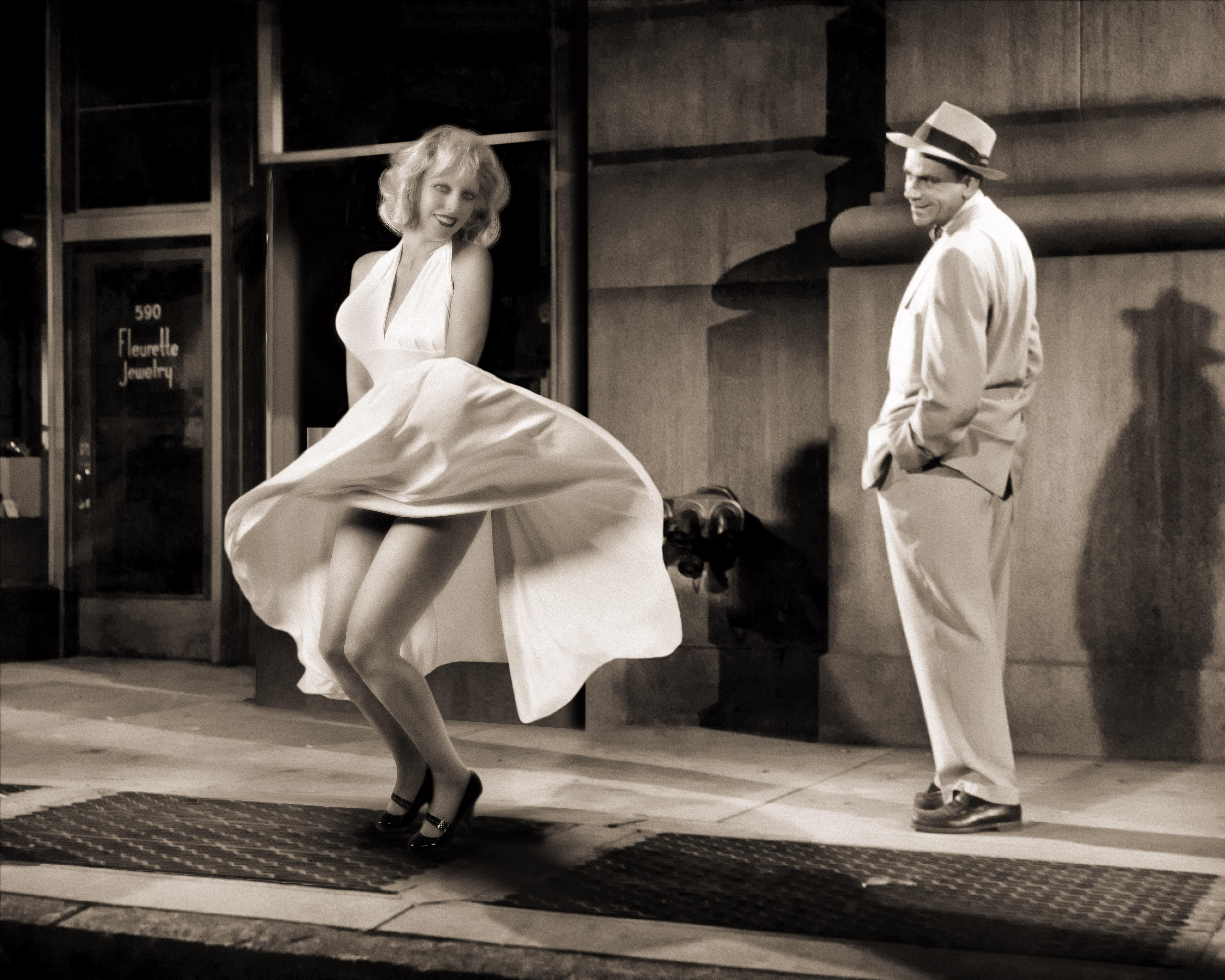Roni as Marilyn Monroe