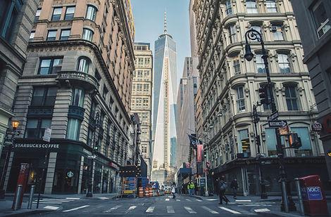 にぎやかなニューヨーク