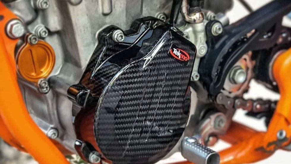 KTM 450/500  Carbon Stator Cover By Tekmo Racing