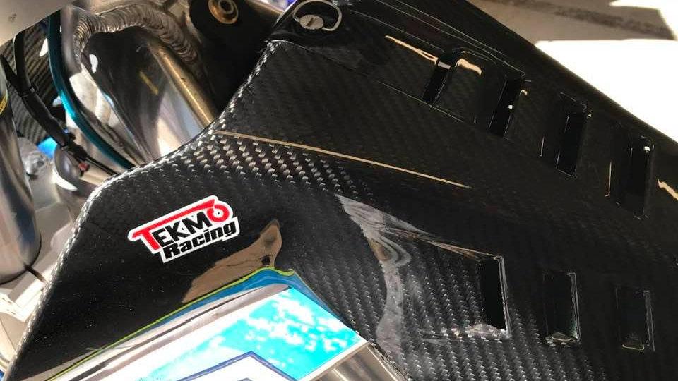 TM Racing 450 Carbon Hi-Flow Air-box Cover by Tekmo Racing