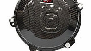 450/501 Husqvarna Carbon Clutch Cover by Tekmo Racing