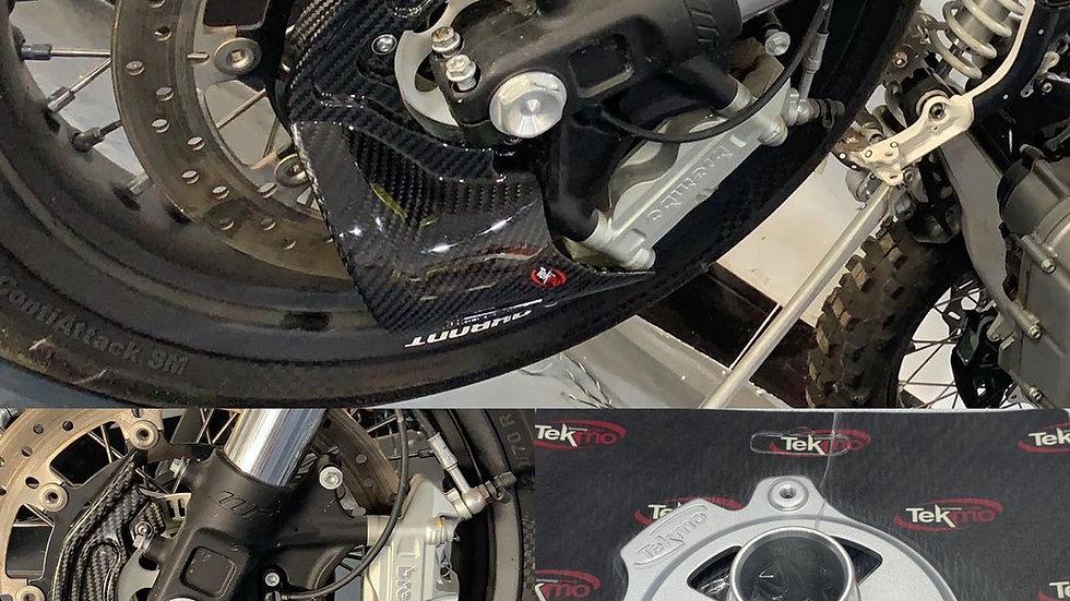 Brake Cooling Scoop/Disc protector Mount (Tekmo Racing)