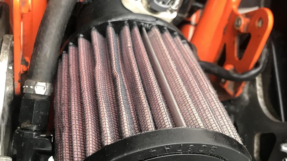 K&N, KTM690/Husqvarna 701, Clamp-On Air Filter