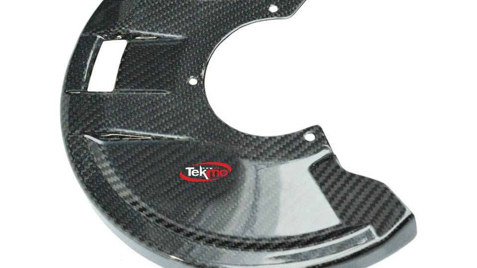 Carbon Front Disc Guard by Tekmo Racing