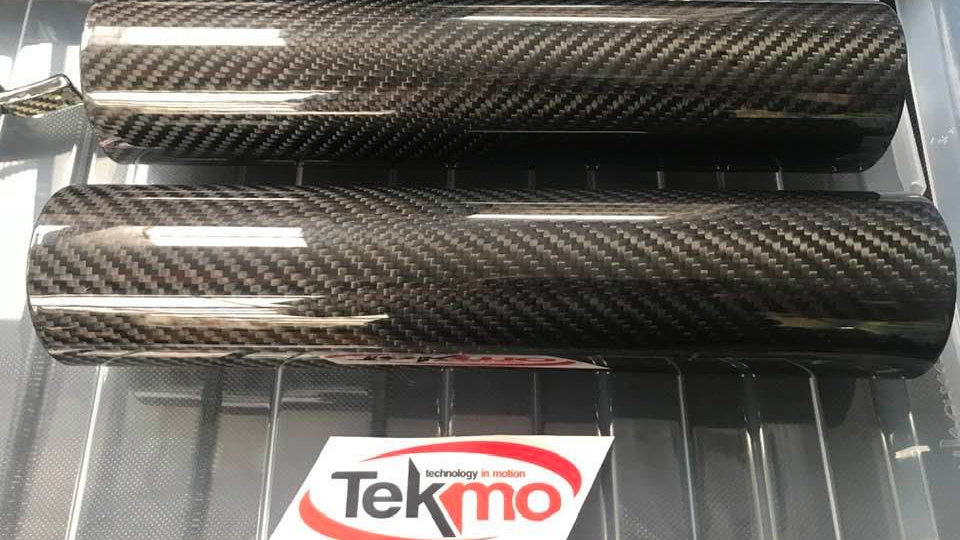 WP Fork Covers (Tekmo Racing Carbon)