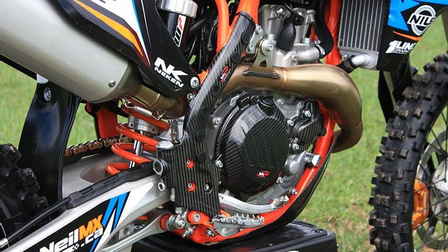 Carbon Frame Guards KTM & Husqvarna by Tekmo Racing