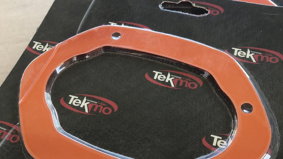 Tekmo Racing Dual-Core Muffler Coloured Spacer Plate