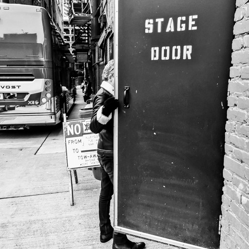 STAGE DOOR (Moore Theatre, Seattle, WA)