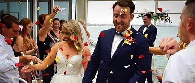 Olivia and Jordan Wedding Day