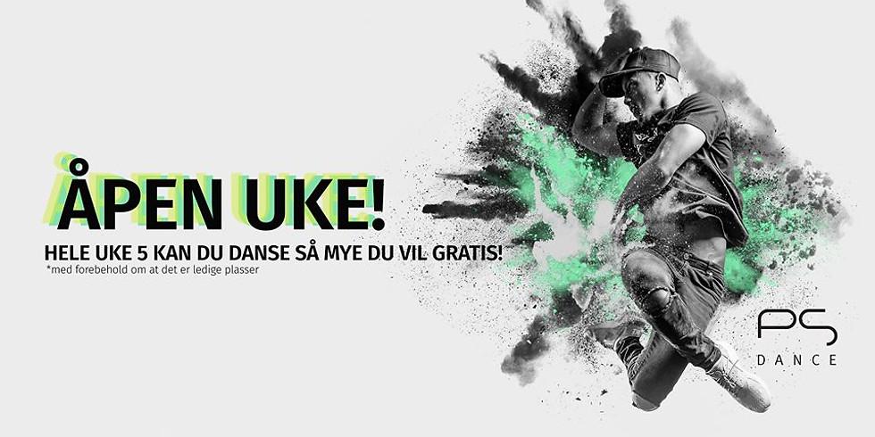 ÅPEN UKE på Ps:Dance