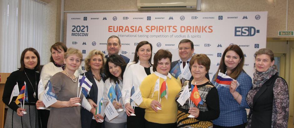 «EURASIA SPIRITS DRINKS» 2021 во ВНИИПБТ
