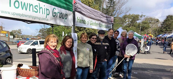 UTG and friends at Upwey Grassroots Market
