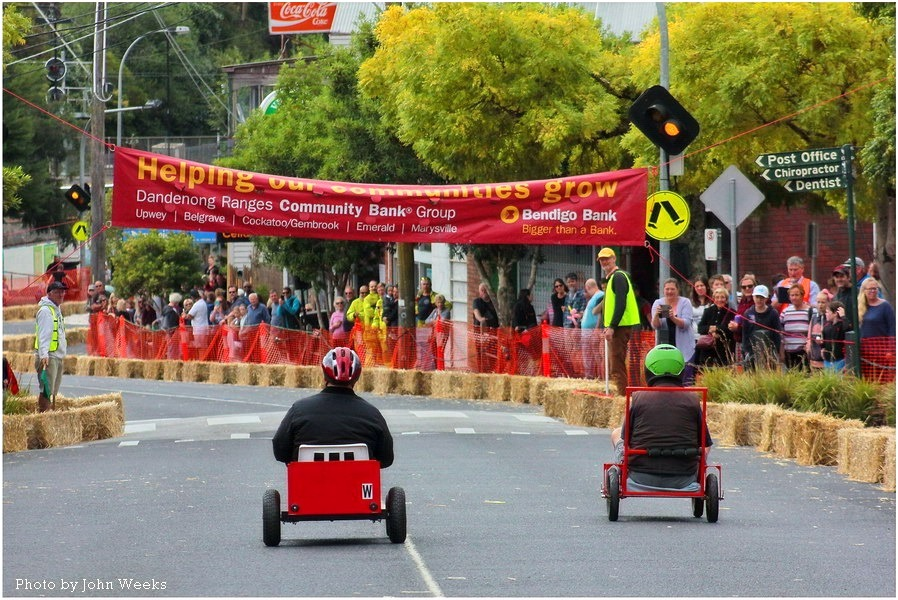 Upwey Billycart Races