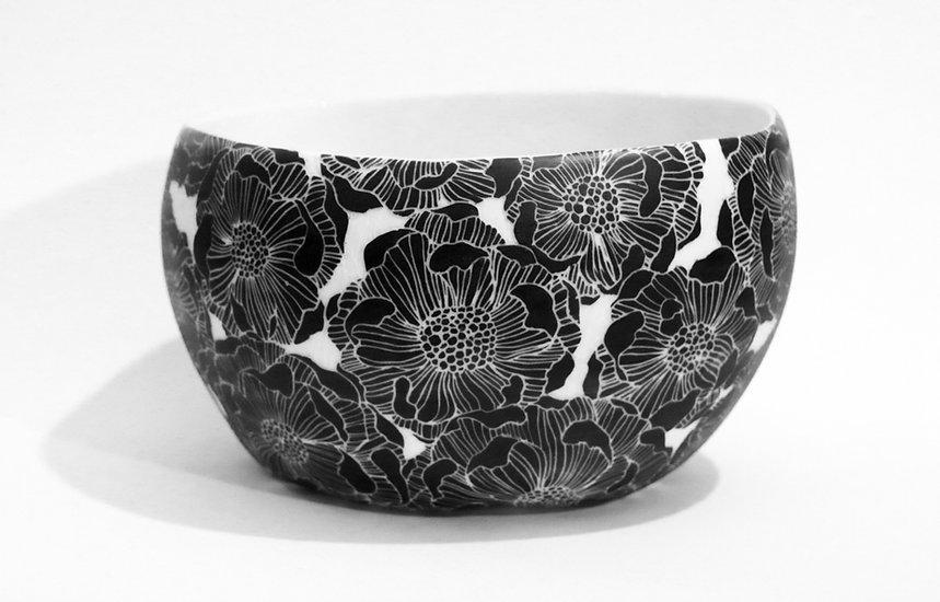 fleur noir lea zanotti ceramique 2021 r-