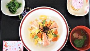 3月の行事食(ひなまつり・食育の日)