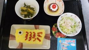 5月の行事食(端午の節句・食育の日)