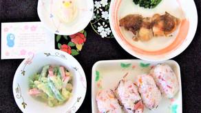 4月の行事食(お花見・食育の日)