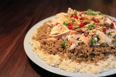 Chicken freekeh