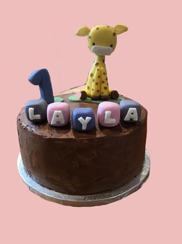 A giraffe for Layla