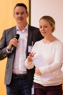 Maren Falch Lindberg fikk prisen for beste ph.d presentasjon -fagkonferansen 2018