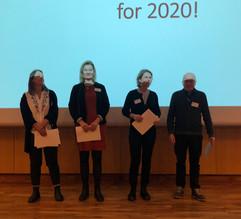 Fire sykepleiere mottok Kari Widerøes Minnefondpris
