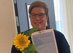 Beste PhD presentasjon 2021 gikk til Karen W. Hara