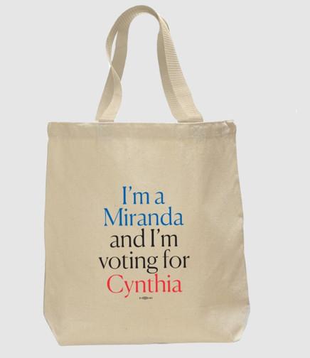 Cynthia Nixon Tote