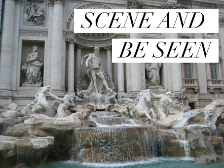JUNE: SCENE AND BE SEEN