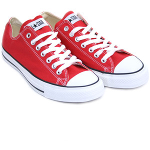 CONVERSE- Red Trainers