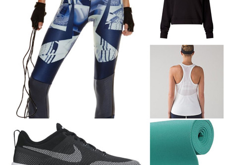 WEEKLY STYLE VIBES: ALEX MOUNT'S GYM-SPIRATION