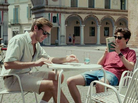BOOK CLUB: CALL ME BY YOUR NAME