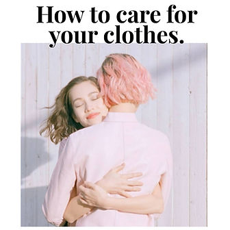 How to care for your clothes rug lane ng