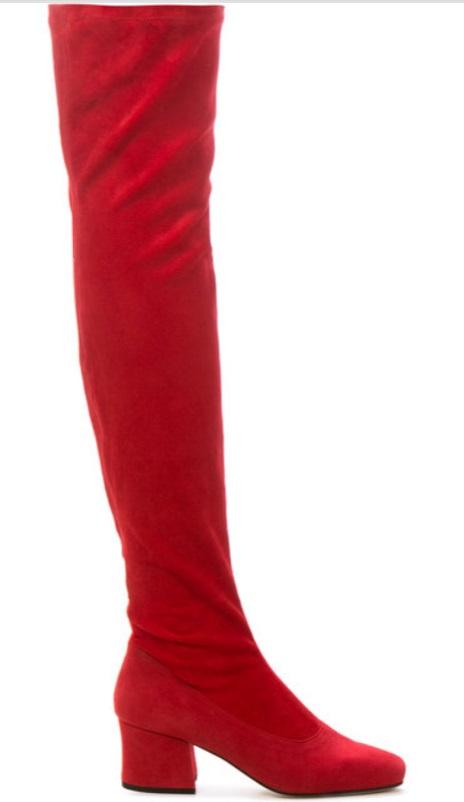 DORATEYMUR - Sybil Leek over-the-knee boots