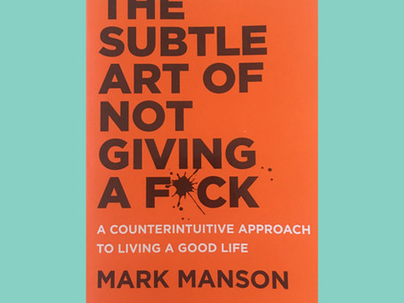 BOOK CLUB: THE SUBTLE ART OF NOT GIVING A F*CK