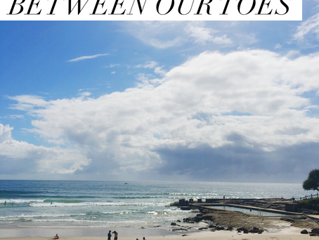 DECEMBER: SAND BETWEEN OUR TOES