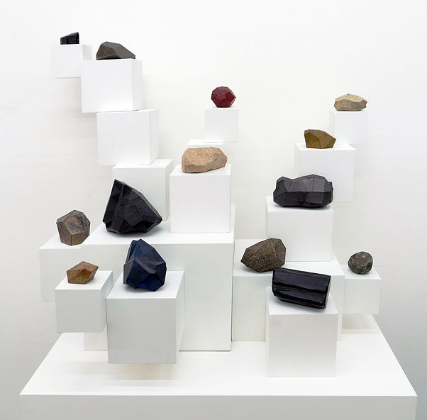 Contemtorary sculpture, installation,geology, art objects
